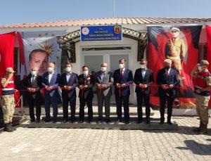 25 günde yapımı tamamlanan Tarihi Murat Köprüsü Karakolu hizmete açıldı