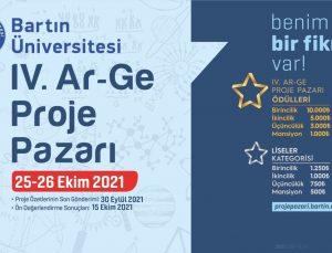 Bartın Üniversitesi IV. Ar-Ge Proje Pazarı başvuruları başladı