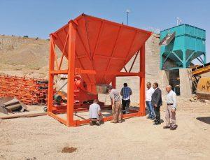 Çiçekdağı Belediyesi taş kırma tesisi kuruyor