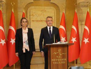 Cumhurbaşkanı Yardımcısı Oktay Nevşehir'de