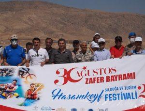 Hasankeyf'te 30 Ağustos Zafer Bayramı coşkuyla kutlandı