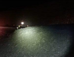 Heyelan nedeniyle Artvin- Yusufeli karayolu ulaşıma kapandı