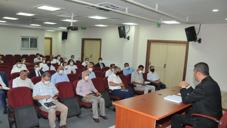 İlçe milli eğitim müdürleri toplantısı yapıldı