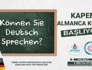 KAPEM'de Almanca kursu açılıyor