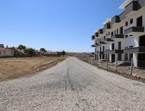 Karaman Belediyesinden soğuk asfalt çalışması