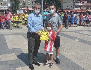 Kırıkkale'de 'Mini Futbol Şenliği' etkinliği