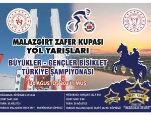 Malazgirt Zafer Kupası için 142,5 kilometre pedal çevrilecek