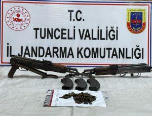 Tunceli'de 2 sığınak imha edildi: Çok sayıda mühimmat ele geçirildi
