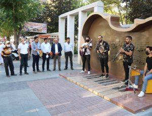 Türkiye'nin ilk ve tek UNESCO'lu müzik şehri Kırşehir'de 'Müzik Durakları' oluşturuldu