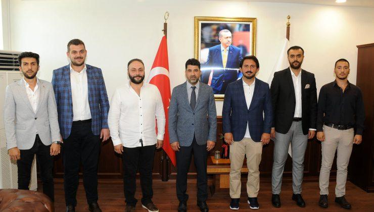 ADÜ Rektörü Aldemir, AK Parti Genel Merkez Gençlik Kolları'nı ağırladı