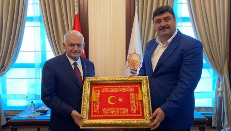 AK Parti Genel Başkanvekili Yıldırım ve Başkan Oğuz Kahramankazan'ı konuştu