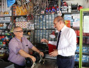 Akçakale esnafından Başkan Yalçınkaya'ya tam destek