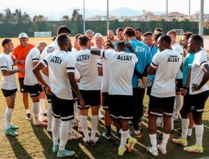 Altay, derbi hazırlıklarını tamamladı