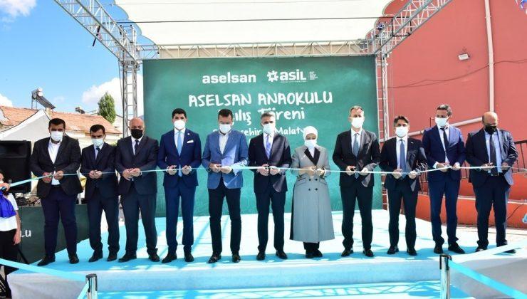 ASELSAN Anaokulu törenle açıldı