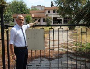 Aydın'ın eski müze binası hırsızların mekanı oldu