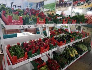 Bafra'nın ürünleri görücüye çıktı