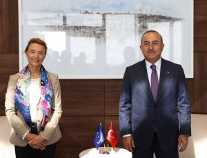 Bakan Çavuşoğlu, Mali Dışişleri Bakanı Diop ve Avrupa Konseyi Genel Sekreteri Buric ile görüştü
