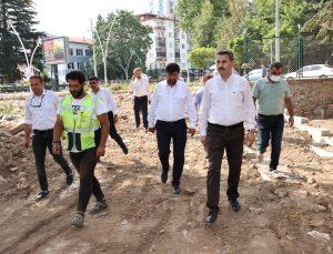 """Başkan Eroğlu: """"Şehrimiz için durmaksızın çalışıyoruz"""""""
