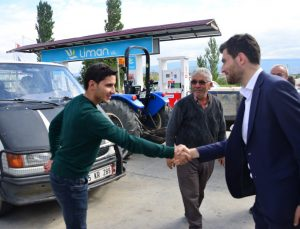Başkan Karagöl çiftçileri ziyaret etti