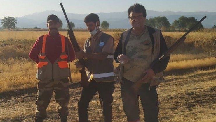 Bingöl'de avcıların denetimi sürüyor