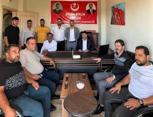 Büyük Birlik Partisi (BBP) ilk defa Silopi'de parti binası açtı