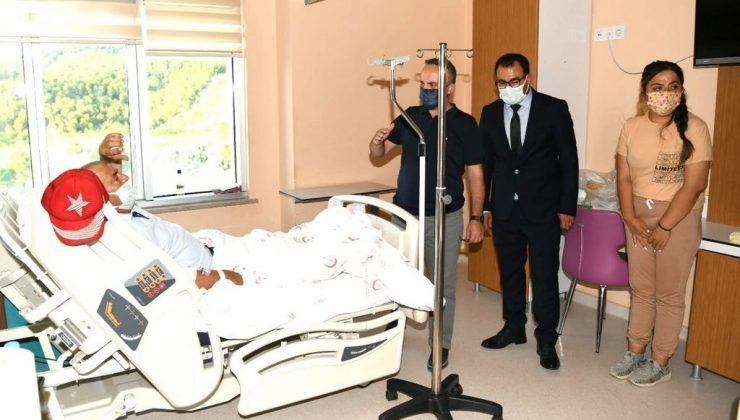 Çan Devlet Hastanesi yeni hizmet binası hasta kabulüne başladı