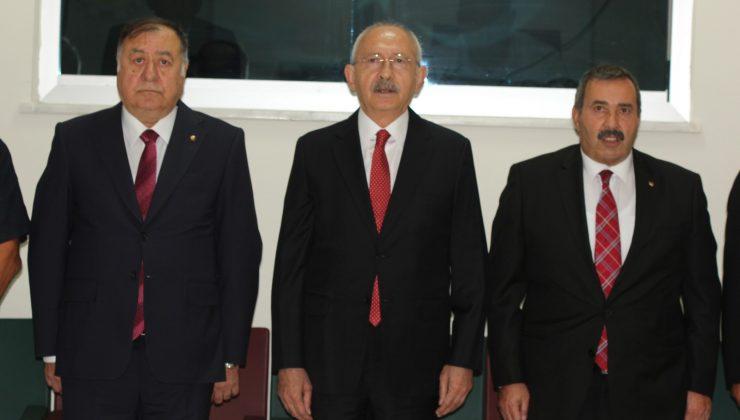 CHP Lideri Kılıçdaroğlu, Nevşehir'de iş adamları ile buluştu
