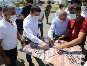 Cizre Kaymakamı Mehmet Tunç göreve hızlı başladı