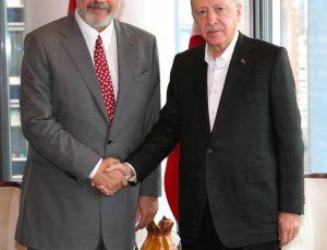 Cumhurbaşkanı Erdoğan, Arnavutluk Başbakanını Rama'yı kabul etti