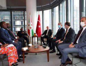 Cumhurbaşkanı Erdoğan, Burundi Cumhurbaşkanı Ndayishimiye ile görüştü