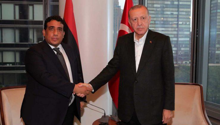 Cumhurbaşkanı Erdoğan, Libya Başkanlık Konseyi Başkanını kabul etti