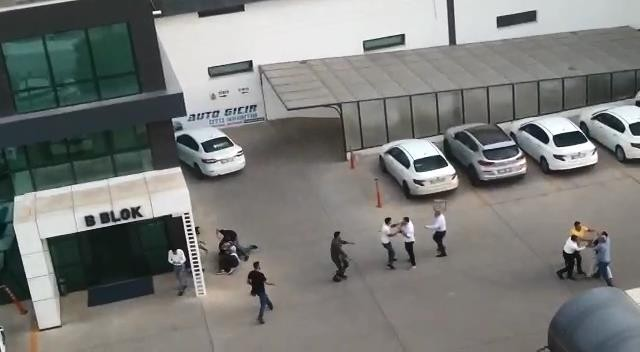 Diyarbakır'da otoparkta kavga