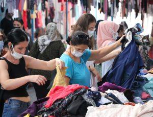 Edirne'de sosyete pazarına gurbetçi akını