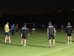 Hacılar Erciyesspor yeni stadında ilk antrenmanını yaptı