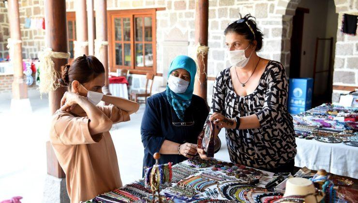 Hamamönü El Ürünleri Pazarı açıldı