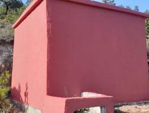 Hanönü köylerinin içme suyu depoları onarılıyor