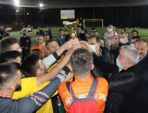 Isparta Küçük Hacılar'da Futbol Şöleni
