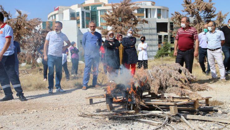 Karaman'da hastane personeline eğitim