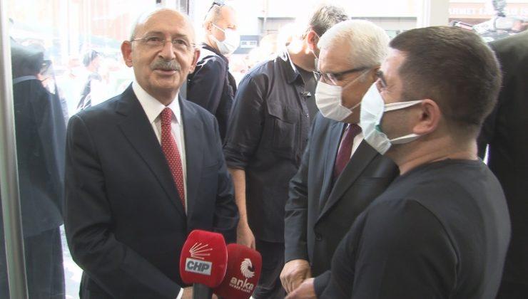 Kılıçdaroğlu, Nevşehir'de esnafı gezdi