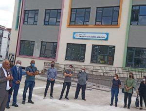 Kırklareli'nde yapımı tamamlanan ilkokul eğitime başlıyor