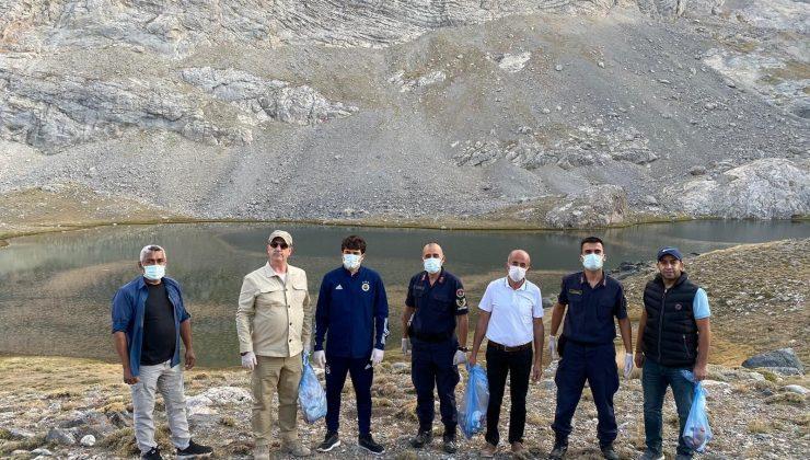 Meydan Yaylası ve Karagöl'de çevre temizliği