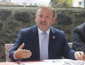 Milletvekili Öztürk, Giresun'a yapılan çalışmaları değerlendirdi