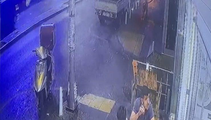 "İstanbul'da ""omuz atma"" cinayeti kamerada"