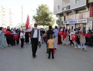 Şırnak annelerinden HDP önünde kutlamalı eylem