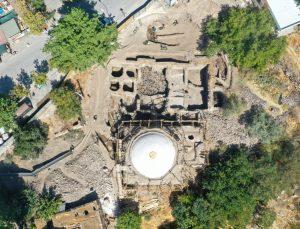 Tarihi Hoca Hasan Hamamında restorasyon çalışmaları devam ediyor