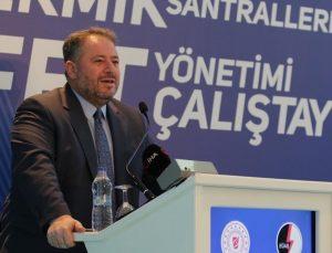 """""""Termik Santrallerde Afet Yönetimi"""" çalıştayı düzenlendi"""