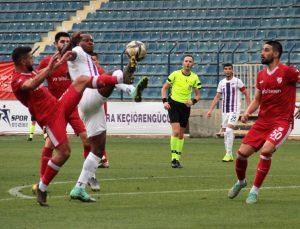 TFF 1. Lig: Ankara Keçiörengücü: 0 – Boluspor: 3