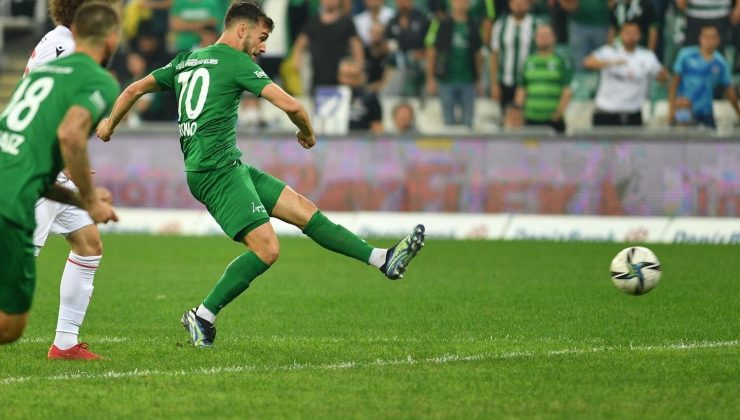 TFF 1. Lig: Bursaspor: 4 – Yılport Samsunspor: 1