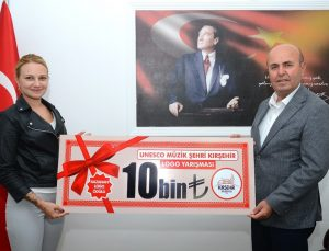 UNESCO Müzik Şehri Kırşehir'in logosu belli oldu