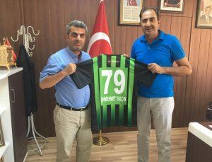 """Yalçın """"Kilis Belediyespor'a Başarılar diliyorum"""""""